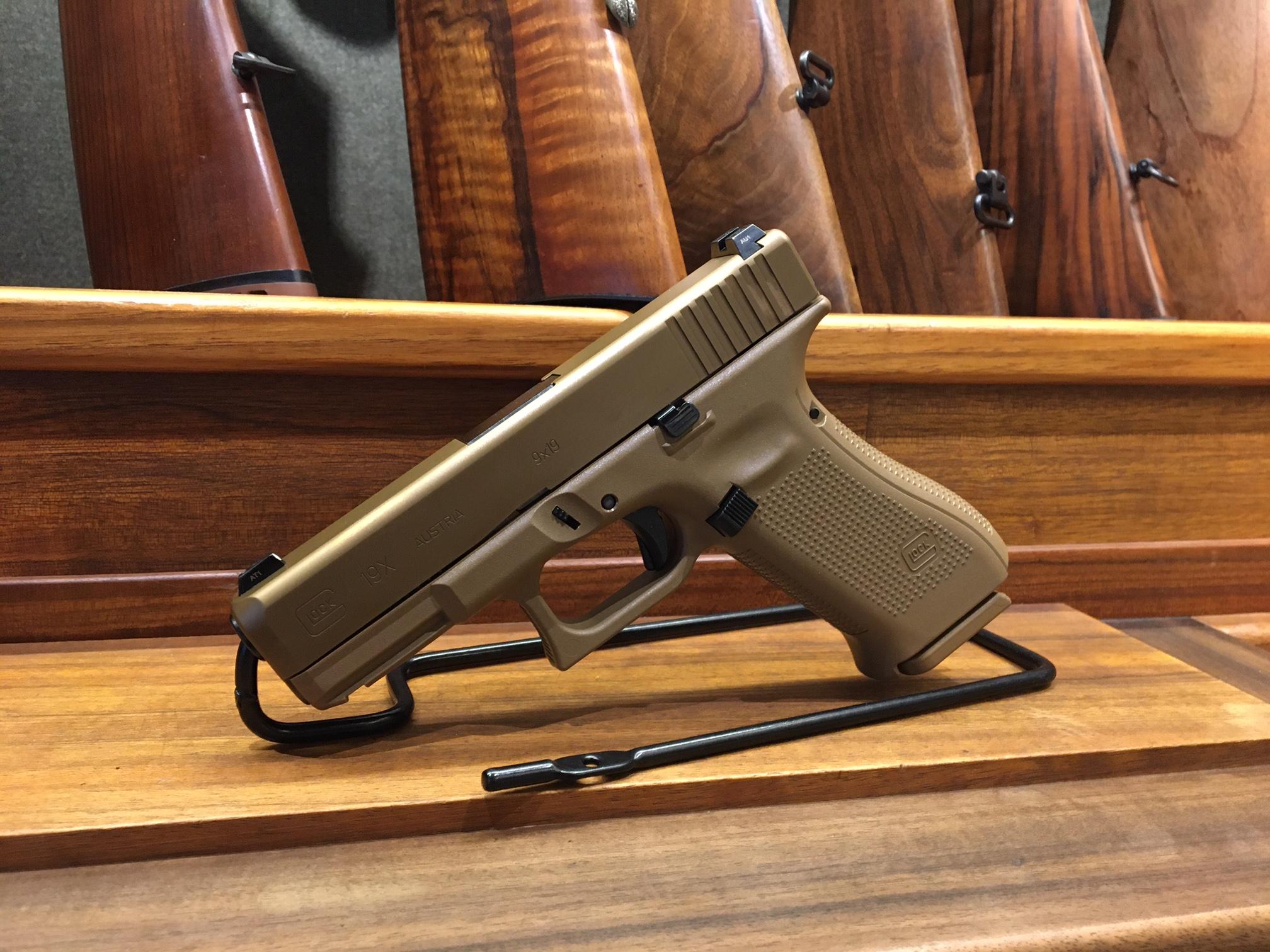 Gock 19 X Coyote 9mm Para