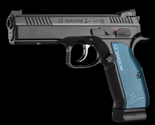 CZ Shadow 2 Blue Grip 9mm Para, Lagernd!!!