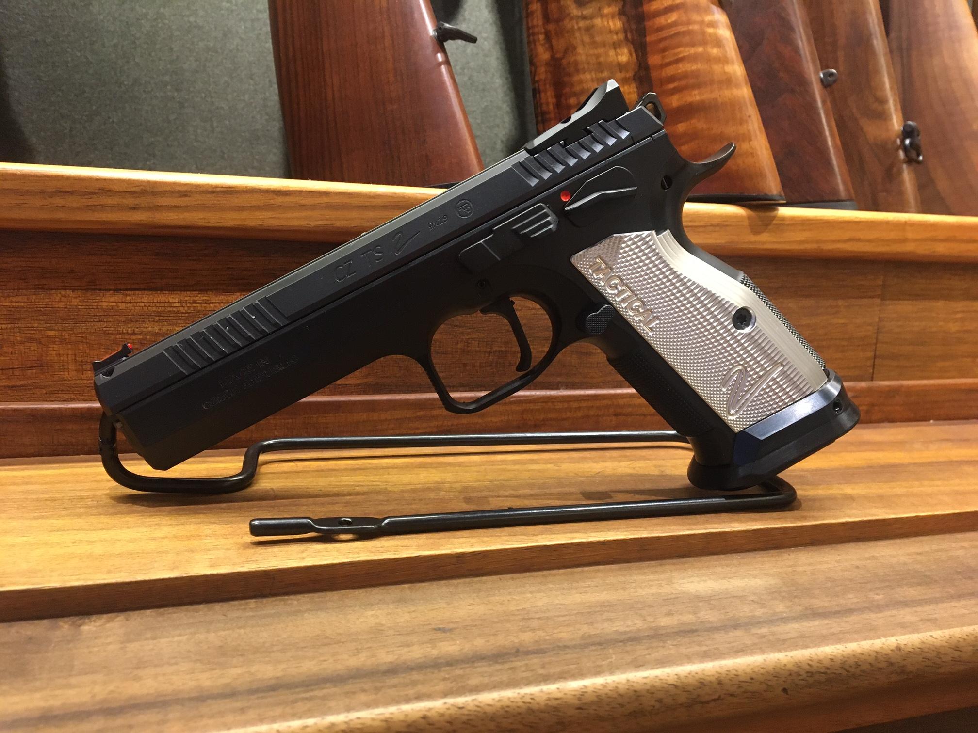 CZ 75 TS 2 Entry 9mm Luger, wieder auf Lager!