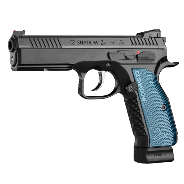 CZ Shadow 2 Blue Grip