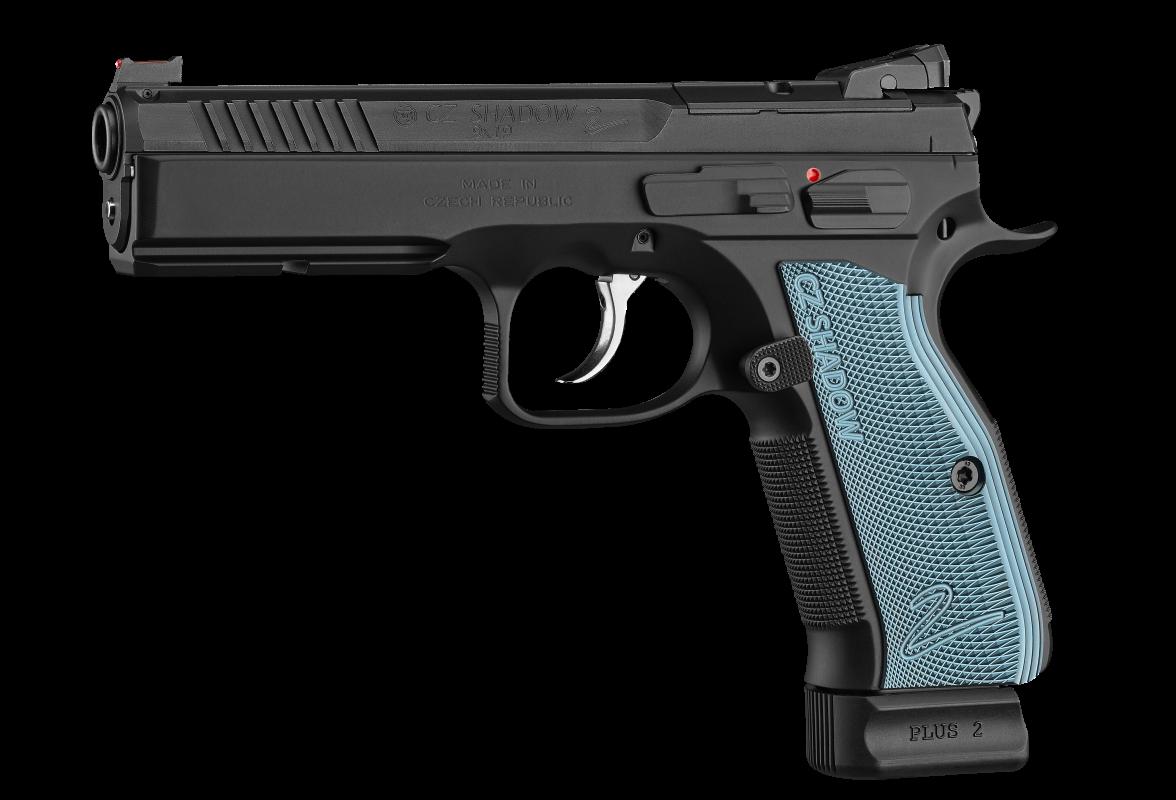 CZ 75 Shadow 2 OR Blue Grip
